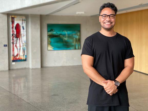 Amitai Pati plays the lead role of Tupaia. Photo: Tagata Pasifika