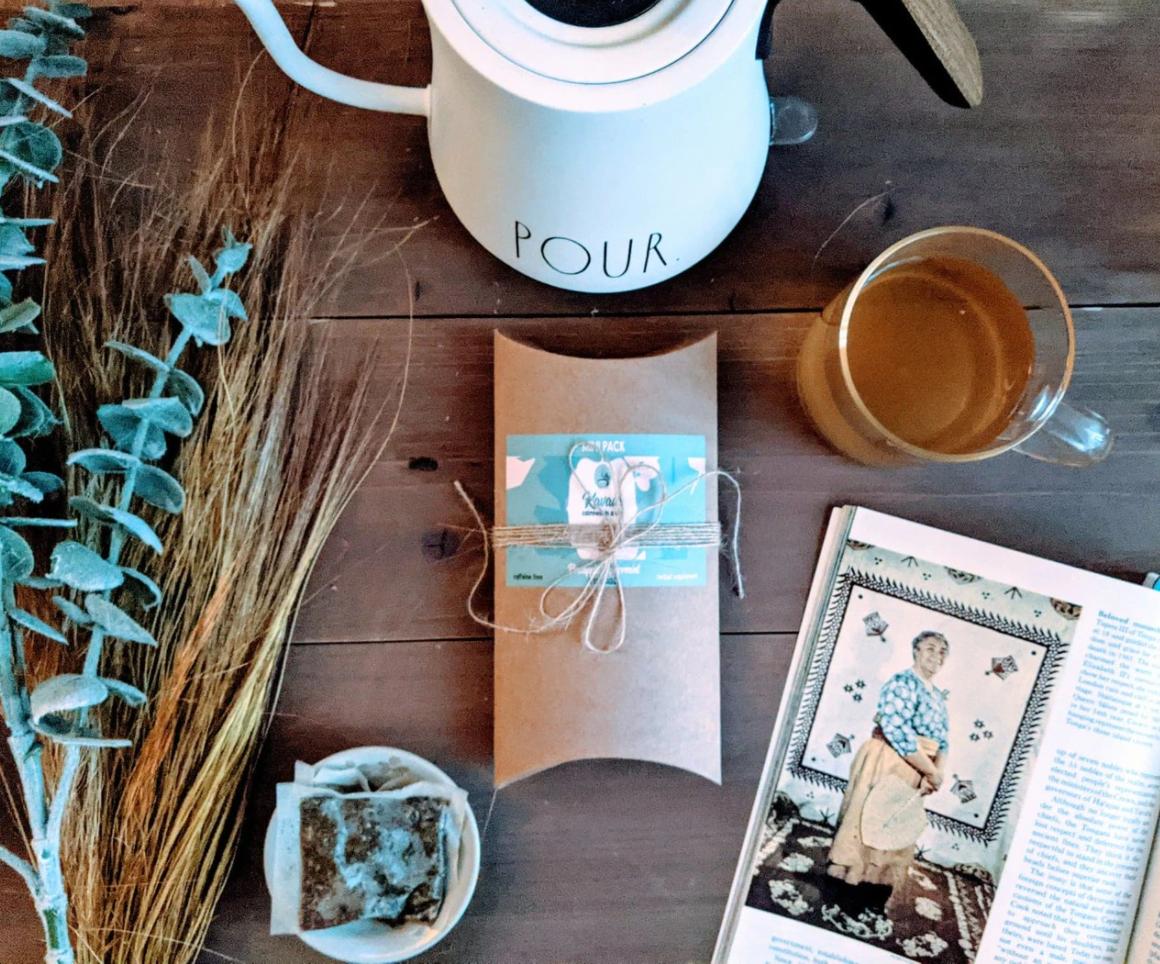 Kavaia Tea, providing a Tongan touch to the common brew
