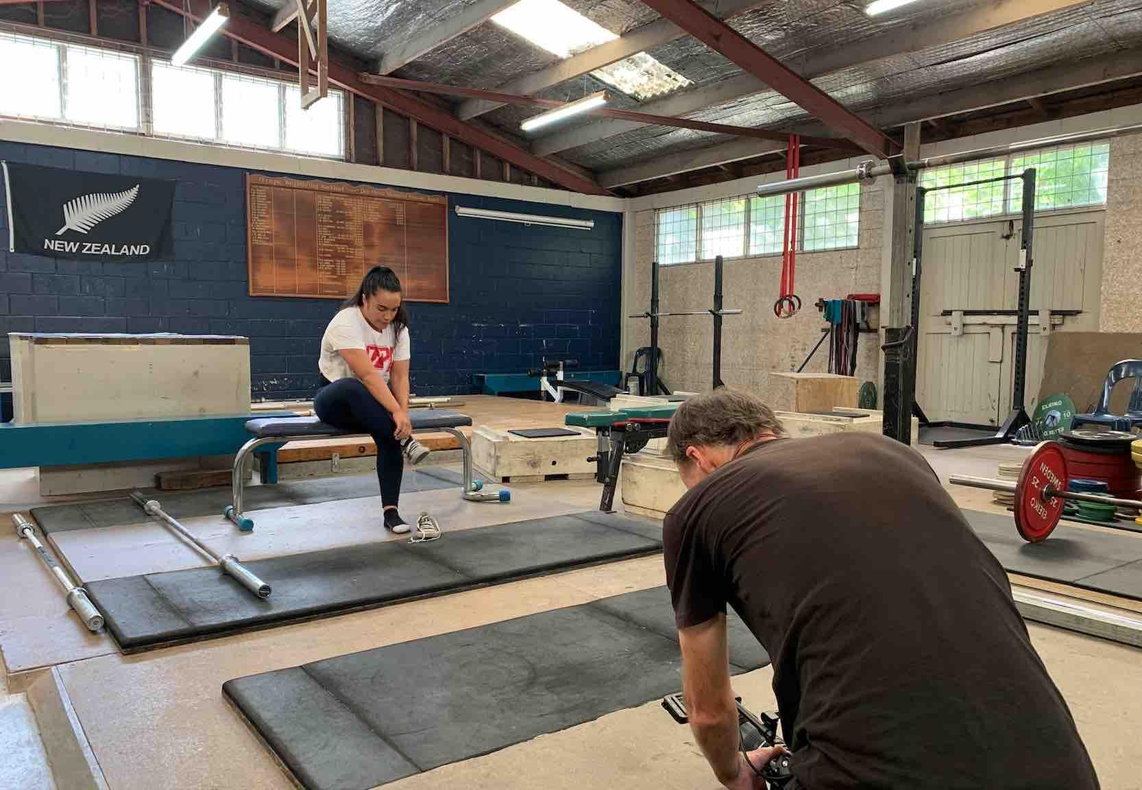 Karlina Tongotea is a world powerlifting champion