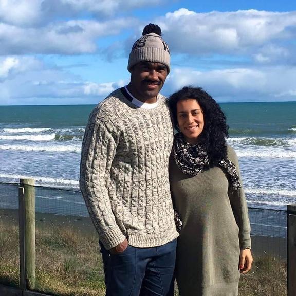 Nemani Waka and his partner Francesca Rex-Horoi. Photo: Supplied