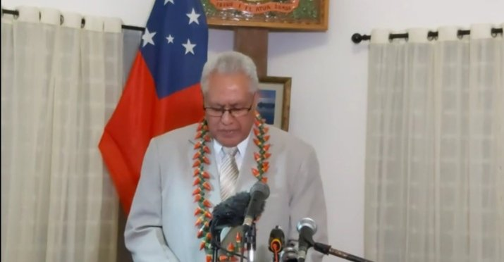Samoa Head of State calls for new election
