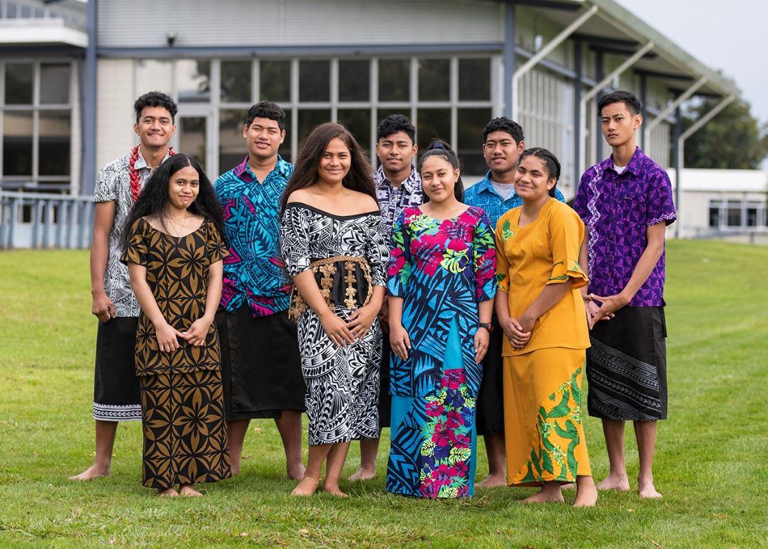 Tangaroa College Samoan young migrants. Photo: Supplied