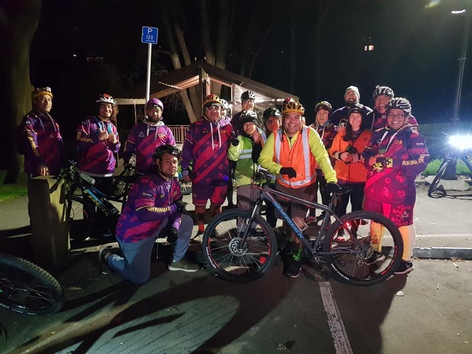 John Pulu with Cycle Safe Porirua
