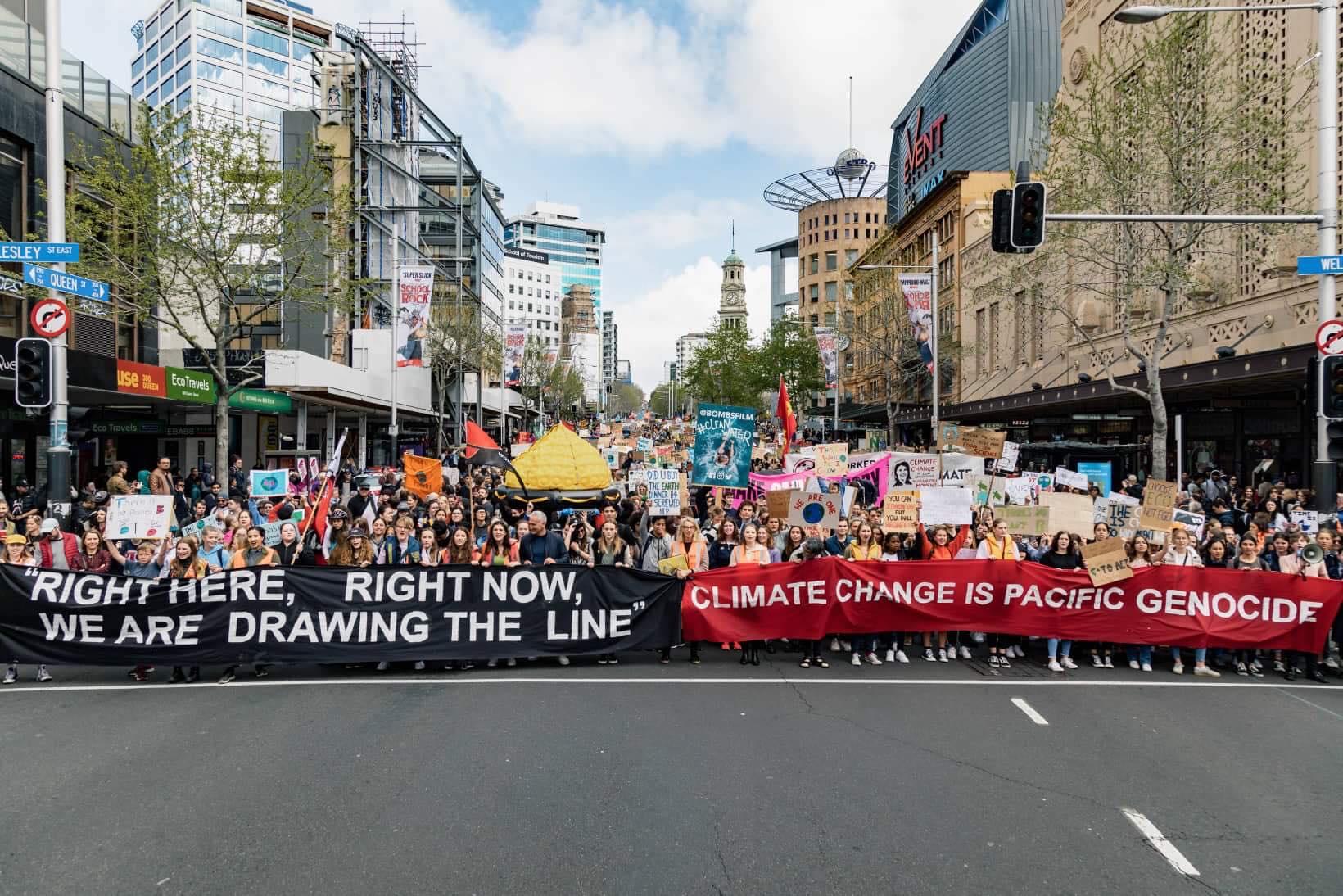 Photo: School Strike 4 Climate Auckland.