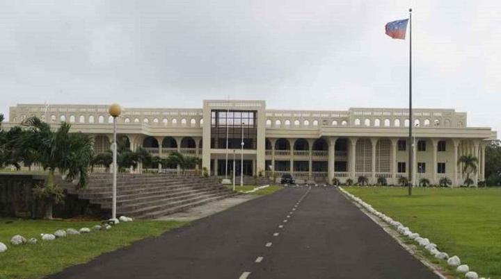 Samoa's Supreme CourtPhoto:RNZ Pacific / Autagavaia Tipi Autagavaia