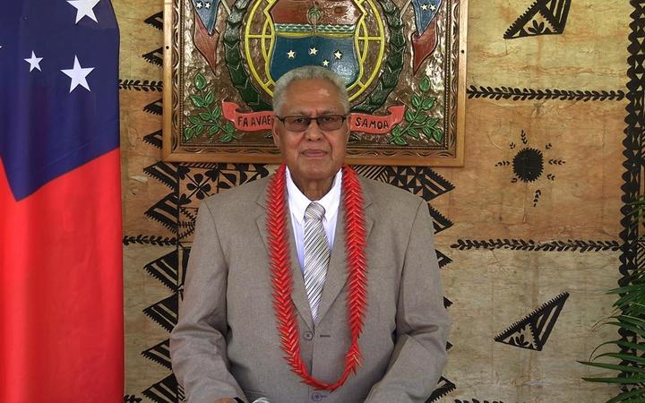 Samoa Head of State Tuimalealiifano Va'aletoa Sualauvi