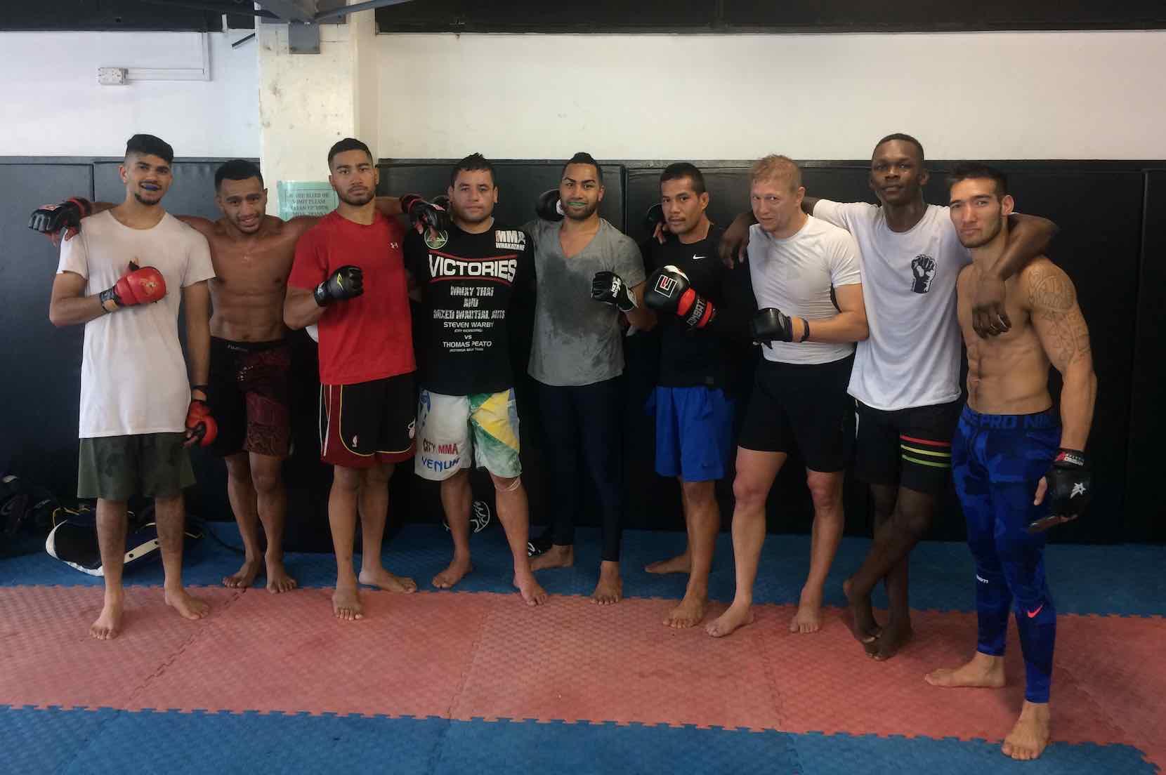 City Kickboxing lost Tongan Fau Vake to a coward's punch earlier this year