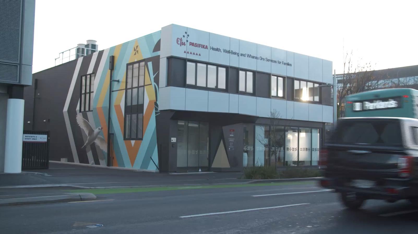 Etu Pasifika Pacific health centre in Christchurch