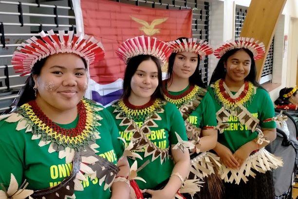 I-Kiribati dancers. Photo: Marama T-Pole