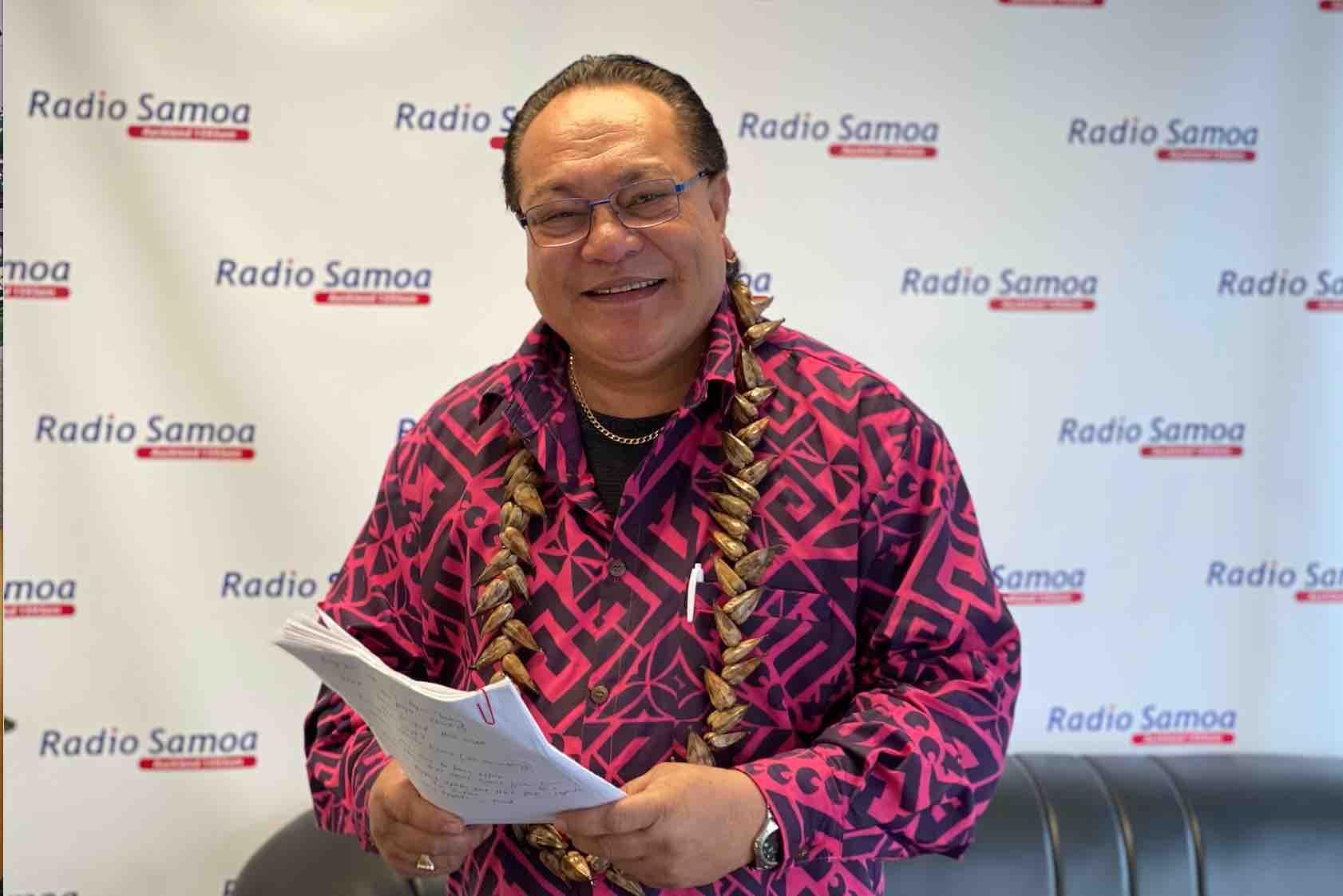 Samoa Radio Host Savea Al Harrington. Photo: John Pulu, Tagata Pasifika.