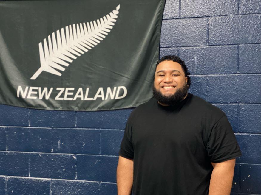 Tongan Weightlifter David Liti. Photo: John Pulu, Tagata Pasifika
