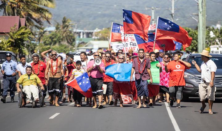 Samoa march