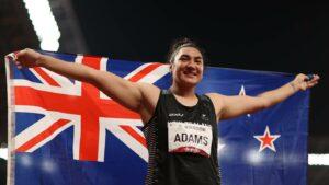 Paralympic gold medallist Lisa Adams