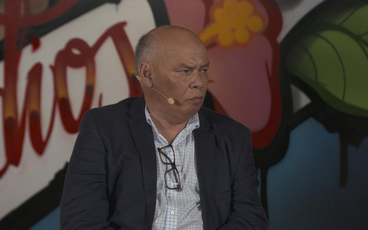Auckland Regional Public Health lead for the church cluster, Colin Tukuitonga says vaccination efforts must be centred closer to the community. Photo: RNZ / Screenshot