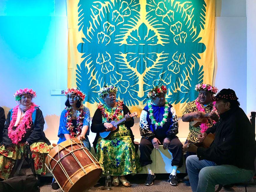 Mauke Community in Te Taunga. Photo: Auckland Museum