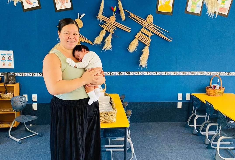 Te reo Maori teacher Angel Mosese
