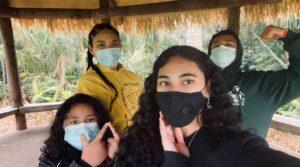Videographer/Reporter Ann-Tauilo Motuga and her aiga in Manurewa. Photo: Supplied