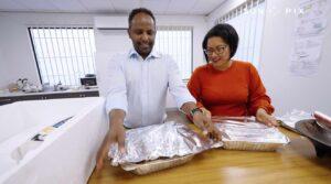 Labour MP Barbara Edmonds has been making pies