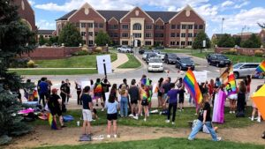 Students at Valor Christian High School staged a walkout in protest of the school's treatment of Tonga.