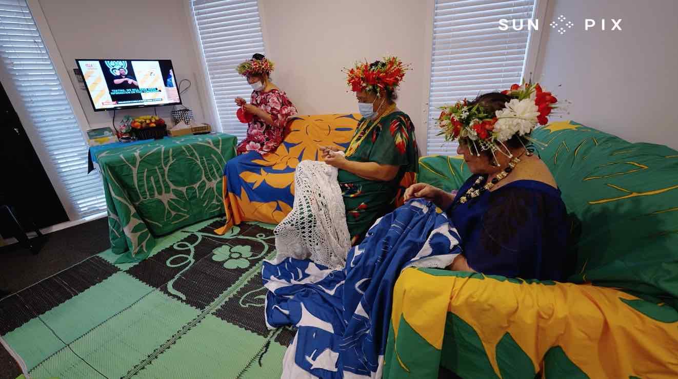 Wellington Cook Island mamas in Covid Alert Level 2