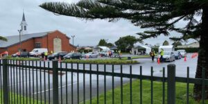 The Niue Pacific vaccination event in Mangere.