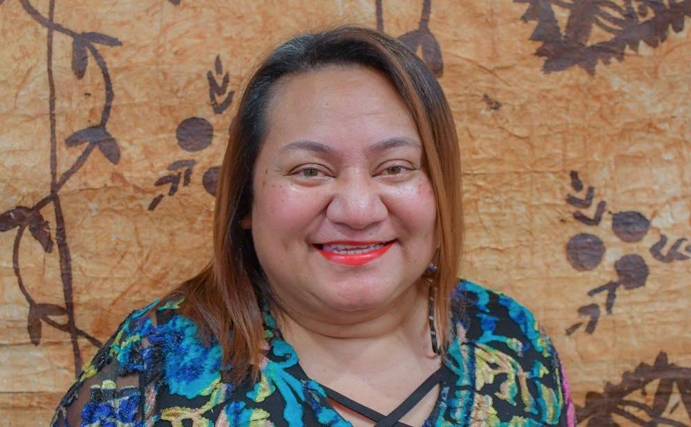 Te reo Māori speaker Tuiloma Lina-Jodi Samu