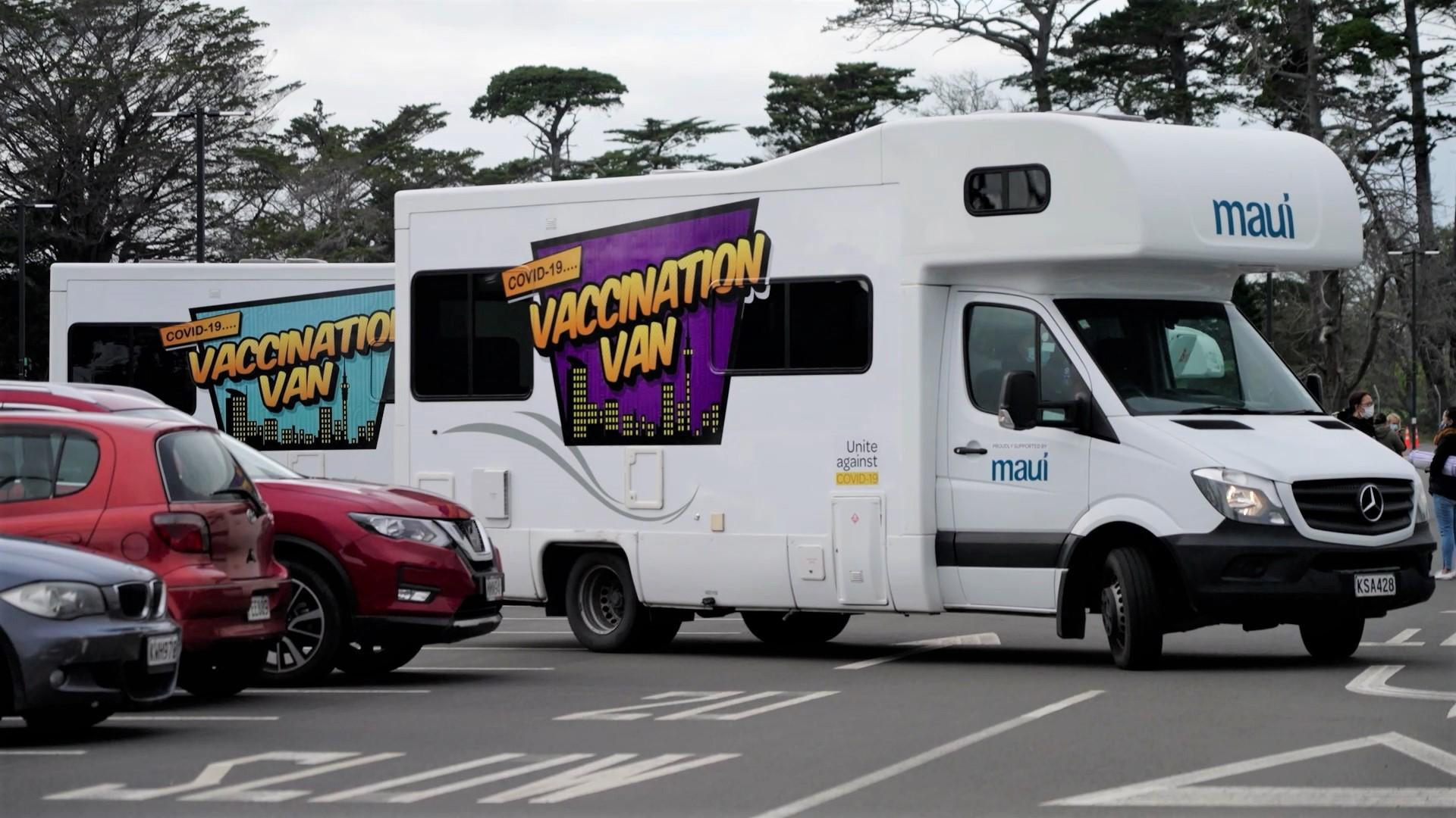 vaccination vans