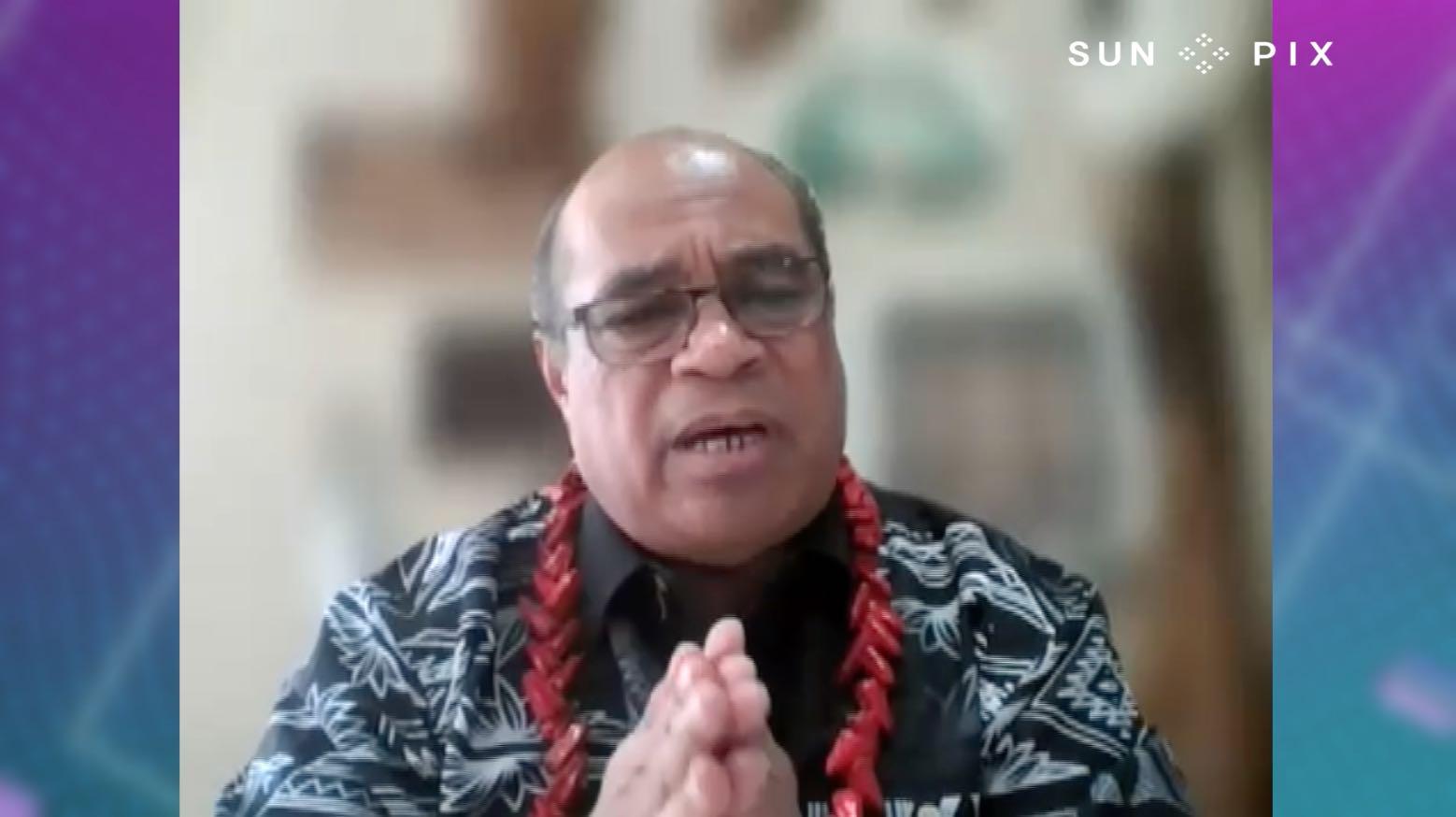 Pacific vaccination rates talanoa with Aupito William Sio