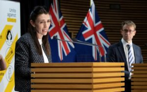 PM Jacinda Ardern announced the Alert level changes at a 4pm press conference on Monday